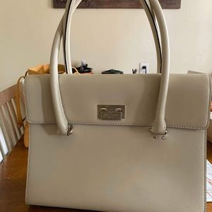 Kate Spade Cream Satchel & Wallet Combo